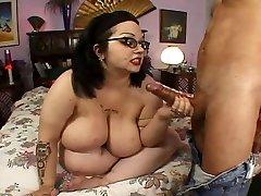 Nerdy Four Saw Big Tit Hairy Plus-size Goth Rozzlynn