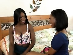 Exotic Ebony Girls Love The Massager On Their Cootchies