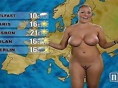Naked Weather Lady