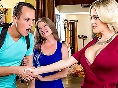 Blake Morgan & Justin Hunt in My Mom's Greatest Friend - DigitalPlayground