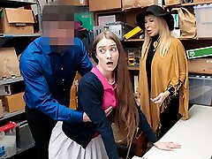 Erica Lauren & Samantha Hayes in Case No. 5584216 - Shoplyfter