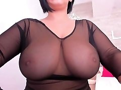 Huge breasts chilling