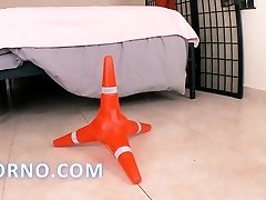 Traffic cone odd insertion