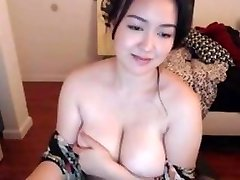 Curvy Asian With Humungous Natural Tits 2