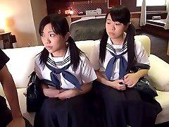 Schoolgirl 3some - JapansTiniest