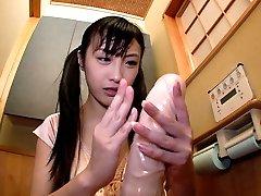 Miku Airi in Girl/girl Handballing Lessons: Part 3 - TeensOfTokyo