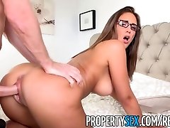 PropertySex - Boat captain bangs good real estate agent at condo showing