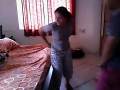 Hot Bengali doll quickie fuck with neighobour in her room