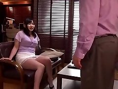 Megumi Haruka in Ravaged by my Husbands Manager part 2
