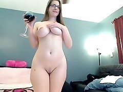 Gigantic round ass flexing and spanking