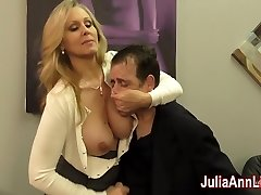 Julia Ann Jerks Stepson before his Appointment!
