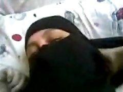 arab egyptian wifey with niqab