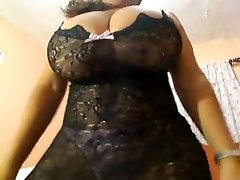 Crazy homemade Solo Girl, Big Bumpers hook-up clip