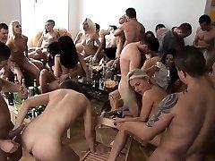 Big Fun Bags Blonde Cum Glazed at Home Party