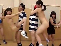 Crazy Japanese model Ai Uehara, Saki Kanasaki in Exotic Group Orgy, Small Baps JAV scene