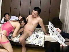 Huge-titted amateur blowjob master