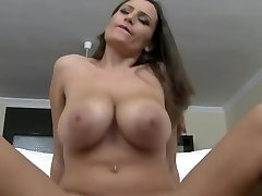 Massive MASSIVE NATURAL Juggling BOOBS RIDING TITS