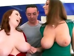 Thick Natural Boobs - Redhead And Brunette!!!!!!!