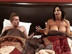 Tara Holiday & Danny D in Overnight With Step-mother: Part One - Brazzers