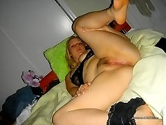 Huge chick spreads to show her ass and pussy