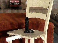 Cock Pedestal Punishment Chair - Intense CBT