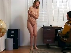 CMNF - Getting fired and forced to undress