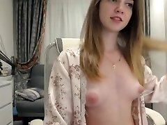 Beautiful bare camgirl sexy puffy nipples