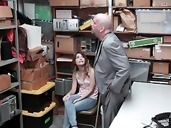 Shoplyfter - Ultra-cute Teen Caught And Fucked While Parent Watches