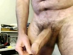 HAIRY DAD BIG Giant Uncircumcised BEAUTIFUL COCK