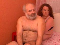 Straight Parent Bear with Chub Woman