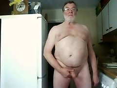 Morning Wank and Cum on Web Cam