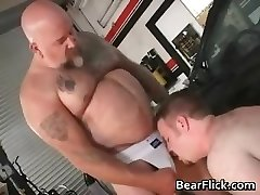 Hairy gay dudes deepthroat penis and get part1