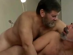 Two spanish daddys screwing