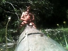 logout on a log