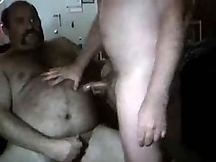 red-hot bear eat and cum