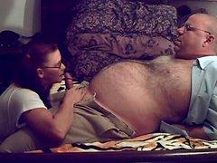Fat Parent Hunk Principal Seduced By His Pupil