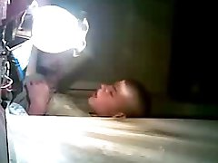 caught masturbating