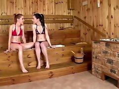 Sauna Fuck-a-thon in HD (720p)