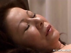 Chizuru Iwasaki sizzling mature Asian chick is fucked hard