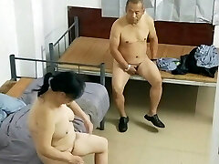 Old Japanese Dude With Hooker