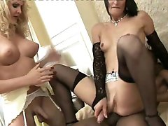 tranny cums in trannys mouth (short clip