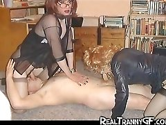 Tranny GFs and Teen Crossdressers!
