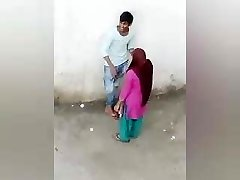 Indian Paramour Romance Outdoor, Desi Damsel Boy Romance, village