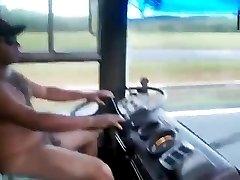 Naked Bear Trucker!