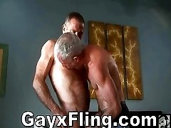Bear Sucking Cock And Fucked