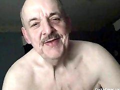 Cum Lover Daddybear Grandpa With Dentures