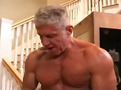 Muscle Dad's Jersey Fuck