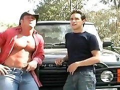 Muscled Mature Fucks Boy