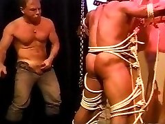 2 huge bodybuilder's muscle butt gets an ass whuppin' as only I can give it. clip 2