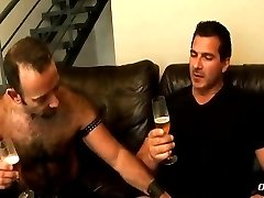 Daddy fucked hard by muscle hunk